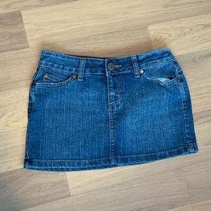 Size 0 Arizona Jeans Co. Denim Skirt